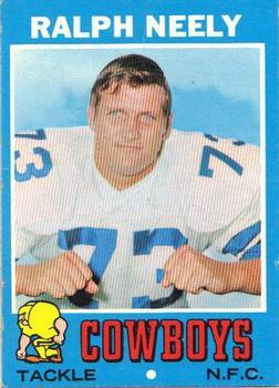1971 Topps #89 Ralph Neely