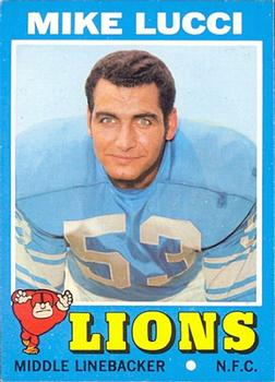 1971 Topps #105 Mike Lucci