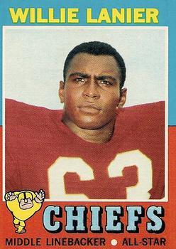 1971 Topps #114 Willie Lanier RC