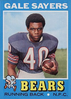 1971 Topps #150 Gale Sayers