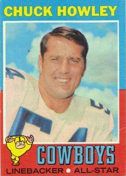 1971 Topps #238 Chuck Howley