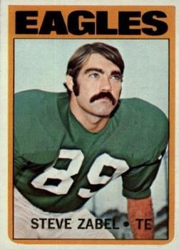 1972 Topps #21 Steve Zabel RC