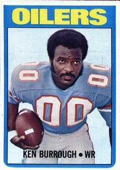 1972 Topps #26 Ken Burrough RC