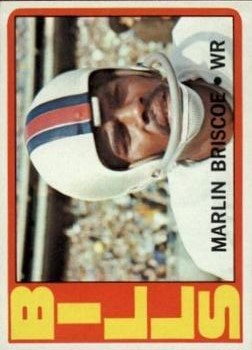 1972 Topps #30 Marlin Briscoe RC