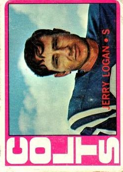 1972 Topps #31 Jerry Logan