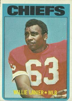 1972 Topps #35 Willie Lanier