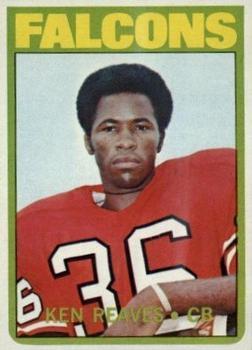 1972 Topps #39 Ken Reaves