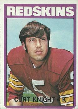 1972 Topps #51 Curt Knight