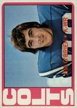 1972 Topps #56 Jim O'Brien RC