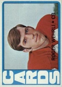 1972 Topps #59 Roger Wehrli