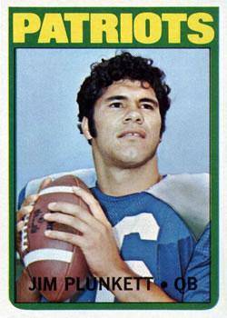 1972 Topps #65 Jim Plunkett RC