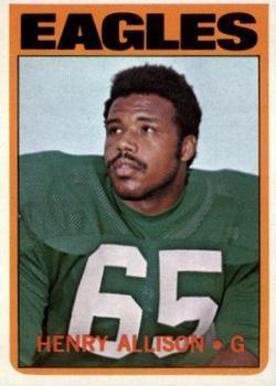 1972 Topps #73 Henry Allison RC