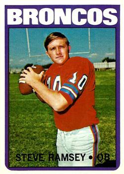 1972 Topps #74 Steve Ramsey RC