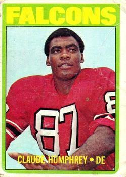 1972 Topps #75 Claude Humphrey