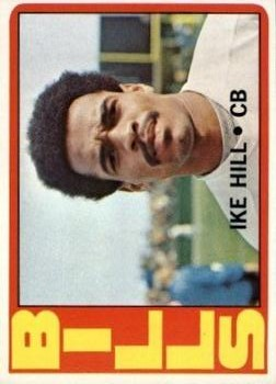 1972 Topps #83 Ike Hill RC