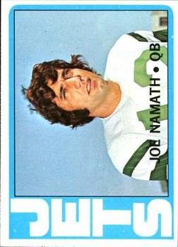 1972 Topps #100 Joe Namath