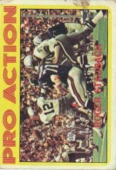 1972 Topps #122 Roger Staubach IA