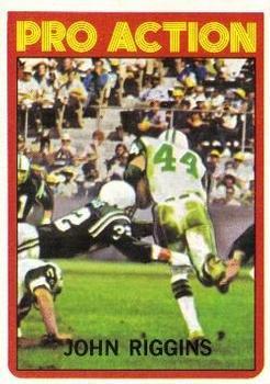 1972 Topps #126 John Riggins IA