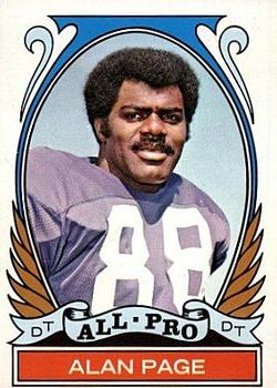 1972 Topps #279 Alan Page AP