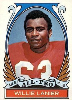 1972 Topps #283 Willie Lanier AP