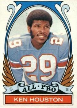 1972 Topps #287 Ken Houston AP