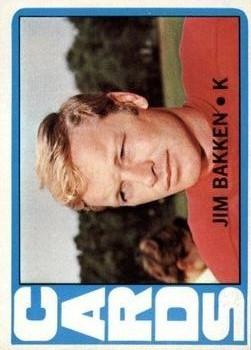1972 Topps #298 Jim Bakken