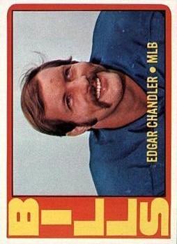 1972 Topps #319 Edgar Chandler