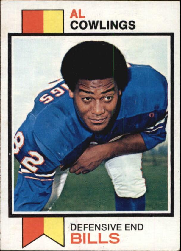 1973 Topps #16 Al Cowlings RC