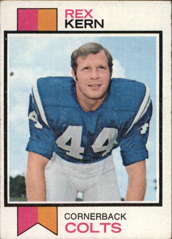 1973 Topps #28 Rex Kern RC