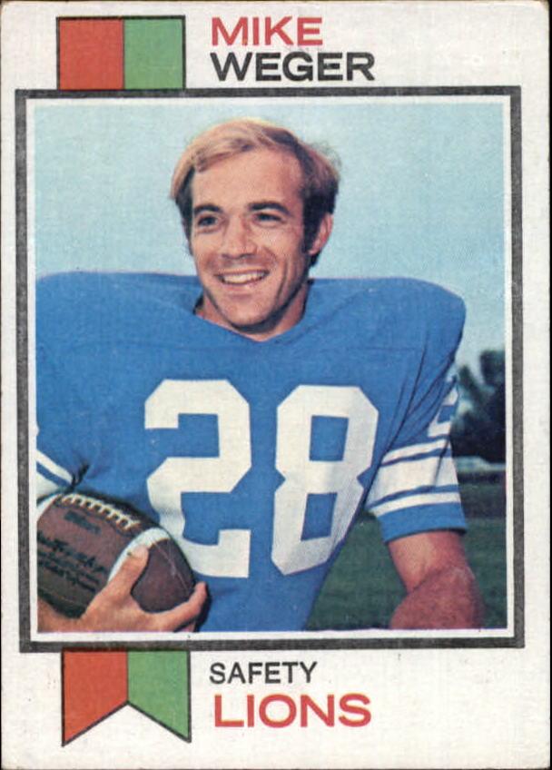 1973 Topps #39 Mike Weger RC