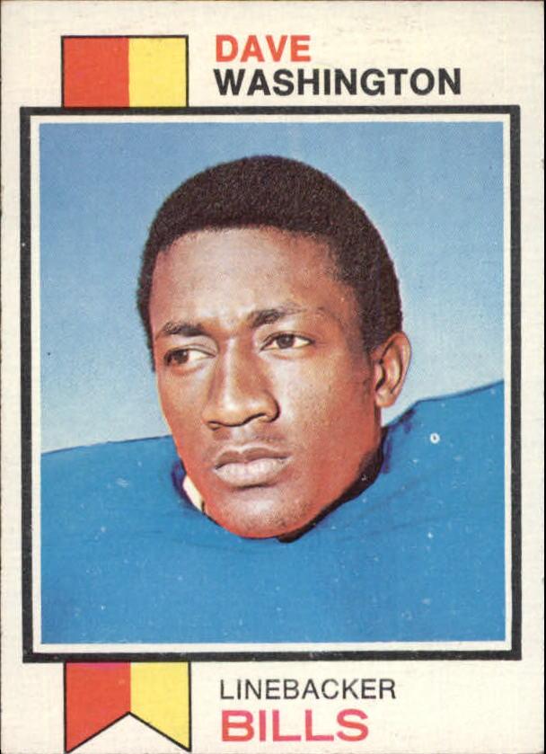 1973 Topps #42 Dave Washington RC