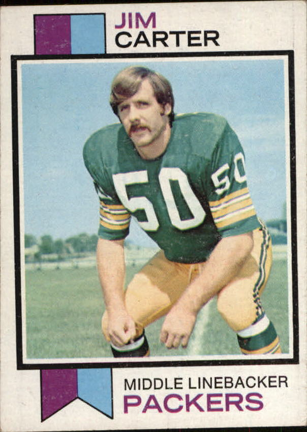 1973 Topps #55 Jim Carter RC