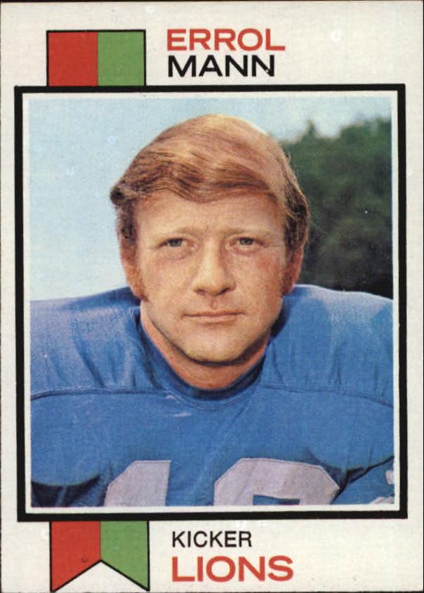 1973 Topps #117 Errol Mann