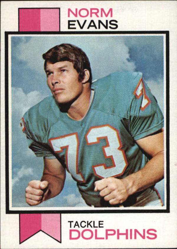 1973 Topps #188 Norm Evans