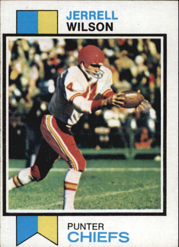1973 Topps #260 Jerrel Wilson