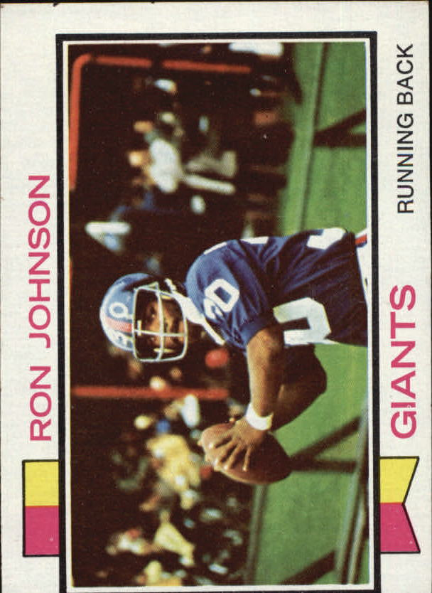 1973 Topps #350 Ron Johnson