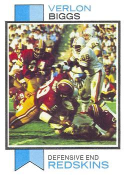 1973 Topps #371 Verlon Biggs