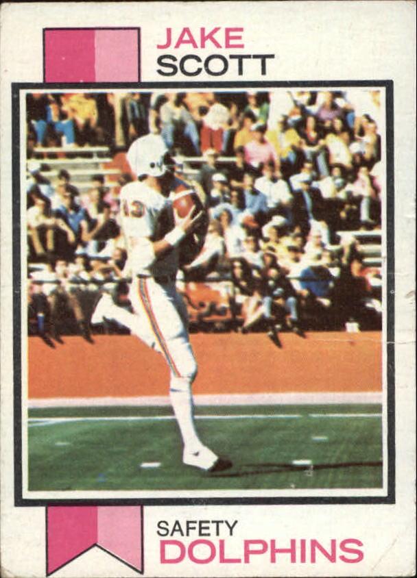 1973 Topps #390 Jake Scott