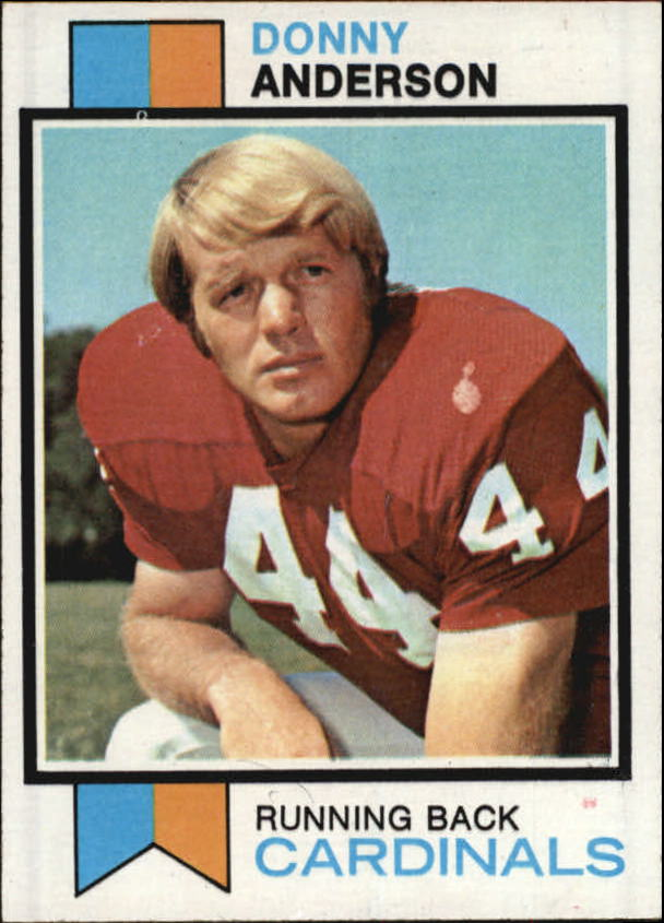 1973 Topps #485 Donny Anderson