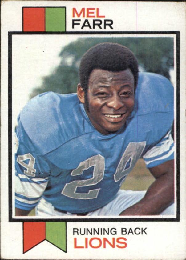 1973 Topps #519 Mel Farr