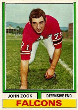 1974 Topps #29 John Zook
