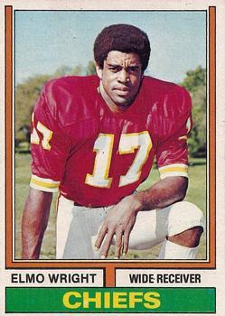 1974 Topps #34 Elmo Wright RC