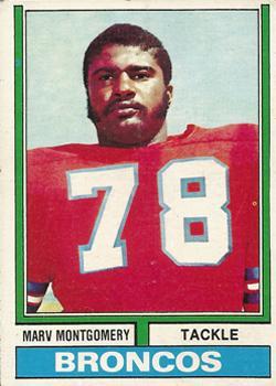 1974 Topps #37 Marv Montgomery RC