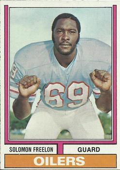 1974 Topps #48 Solomon Freelon RC