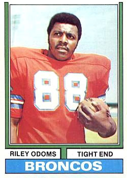 1974 Topps #89 Riley Odoms RC