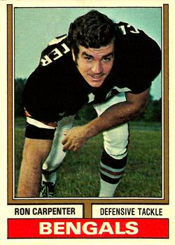 1974 Topps #158 Ron Carpenter RC