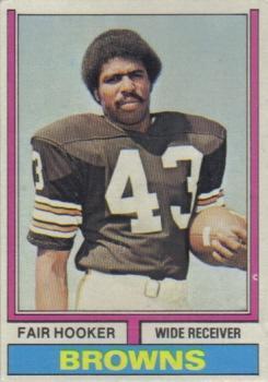 1974 Topps #185 Fair Hooker