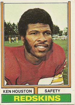 1974 Topps #235 Ken Houston