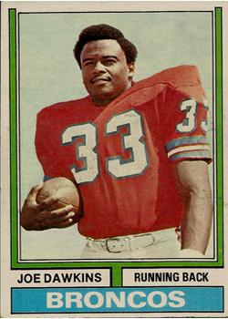 1974 Topps #269 Joe Dawkins