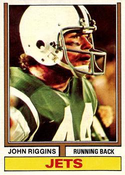 1974 Topps #280 John Riggins